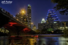 Congress Avenue Bridge, downtown Austin, Texas