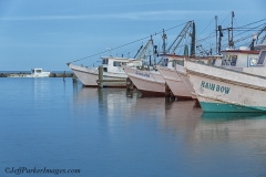 Shrimp boats, Texas Gulf Coast