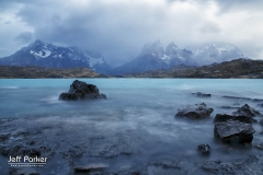Landscape in Patagonia Torres del Paine NP