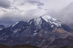 Dramatic mountains of Patagonia
