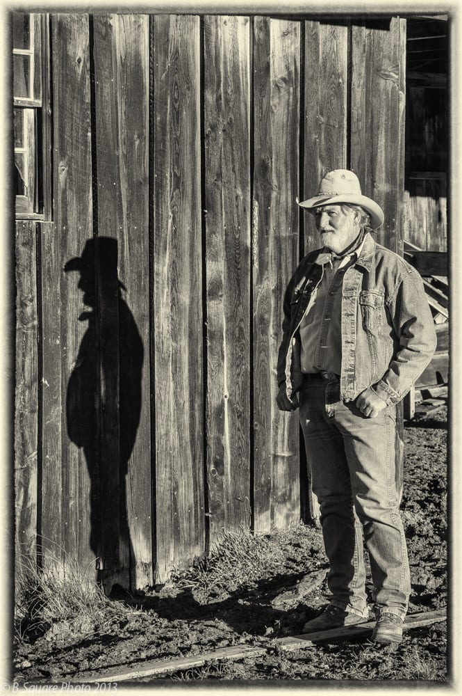 Gene Coon at Vermejo Park Ranch ~ ©Bill Boss