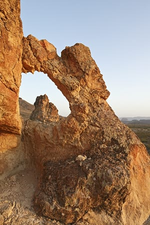 Window at the Chimneys, Big Bend National Park