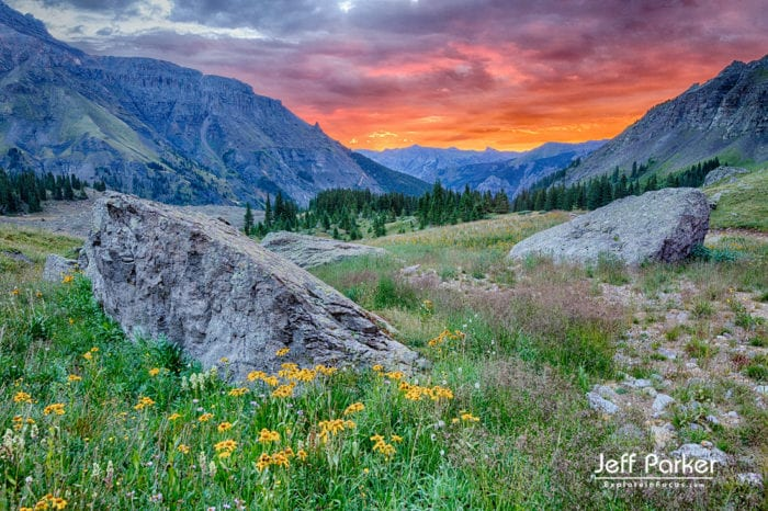 Landscape Photography Workshops in Colorado. This Colorado Mountain Landscapes and Wildflowers Photo Tour 2020 focuses on capturing beautiful landscape images of the stunning wildflower-filled basins of the San Juan Mountains.