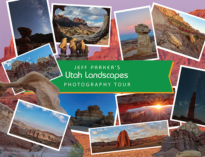 Focus on unique photogenic red-rock landscapes and super dark skies when you join Jeff Parker for his Utah Landscapes and Night Skies Photo Tour 2021