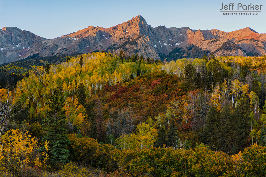 This Colorado Aspen Photo Tour 2020 focuses on capturing beautiful landscape images of the stunning fall color in the San Juan Mountains.
